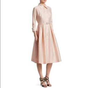 Teri Jon Pale Pink Dress NWT